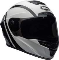 Bell Star MIPS Equipped Street Motorcycle Helmet (Tantrum Matte/Gloss White/Black/Titanium, Medium)
