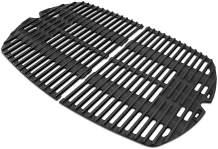 Votenli C764D(2-Pack) Cast Iron Cooking Grid Grates Replacement for Weber Q100 series, Q140, Q1000 series, Q1200, 50060301, 386000, 50060001, 51010001, 51060001, 51070001, 51080001, 51190001, 51200001