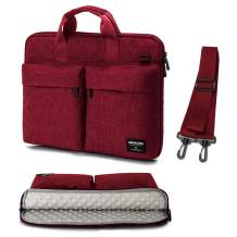 KINGSLONG 15.6~17.3 Inch Laptop Bag for Men Women Messenger Bag Laptop Sleeve Case Computer Bags Shoulder Strap PC Briefcase