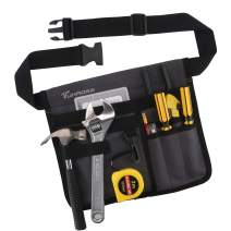 Tool Bags Professional Electrican's Tool Pouch With Belt Bag Many Pockets for Maintenance Tool Pouch