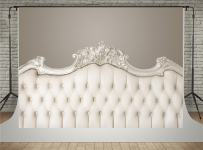 Kate Light Yellow Headboard for Bedroom Photography Backdrops Interior Background 7x5ft Fabric Material Without Wrinkles for Baby Photo Studio