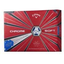 Callaway Golf Chrome Soft Truvis Golf Balls, (One Dozen), Prior Generation