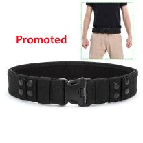 YAHILL Security Tactical Belt Combat Gear Adjustable Heavy Duty Police Military Equipment Accessories for Sports Outdoor