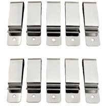 EZ-Xtend Heavy Duty Knife Sheath Clip and DIY Gun Holster Belt Clip - Gun Accessories - Replacement Belt Clip - No Rust Stainless Steel Metal - Sheath Belt Clip, Spring Clips, Pocket Clip