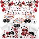 Big Dot of Happiness Las Vegas - Casino Party Supplies - Banner Decoration Kit - Fundle Bundle