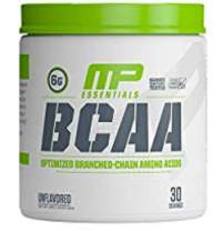 MP Essentials BCAA Powder, 6 Grams of BCAA Amino Acids, Post-Workout Recovery Drink for Muscle Recovery and Muscle Building, Valine Powder, BCCA Post-Workout, Unflavored, 30 Servings