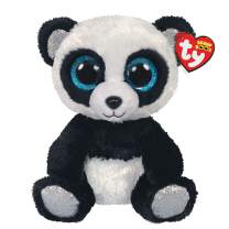 Claire's Medium Beanie Boo Official Ty Merchandise Soft Toy (Bamboo The Panda)