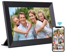 MALOGIC Digital Picture Frame,10 inch WiFi Digital Photo Frame with IPS HD Screen,1280x800 Resolution,Auto-Rotate,Share Photo & Video via App at Anytime and Anywhere,Support USB & Micro SD Card -Black