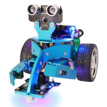 Yahboom Micro:bit Robot Kit for Coding (Basic Version with Lift Pack Without Mirco bit)