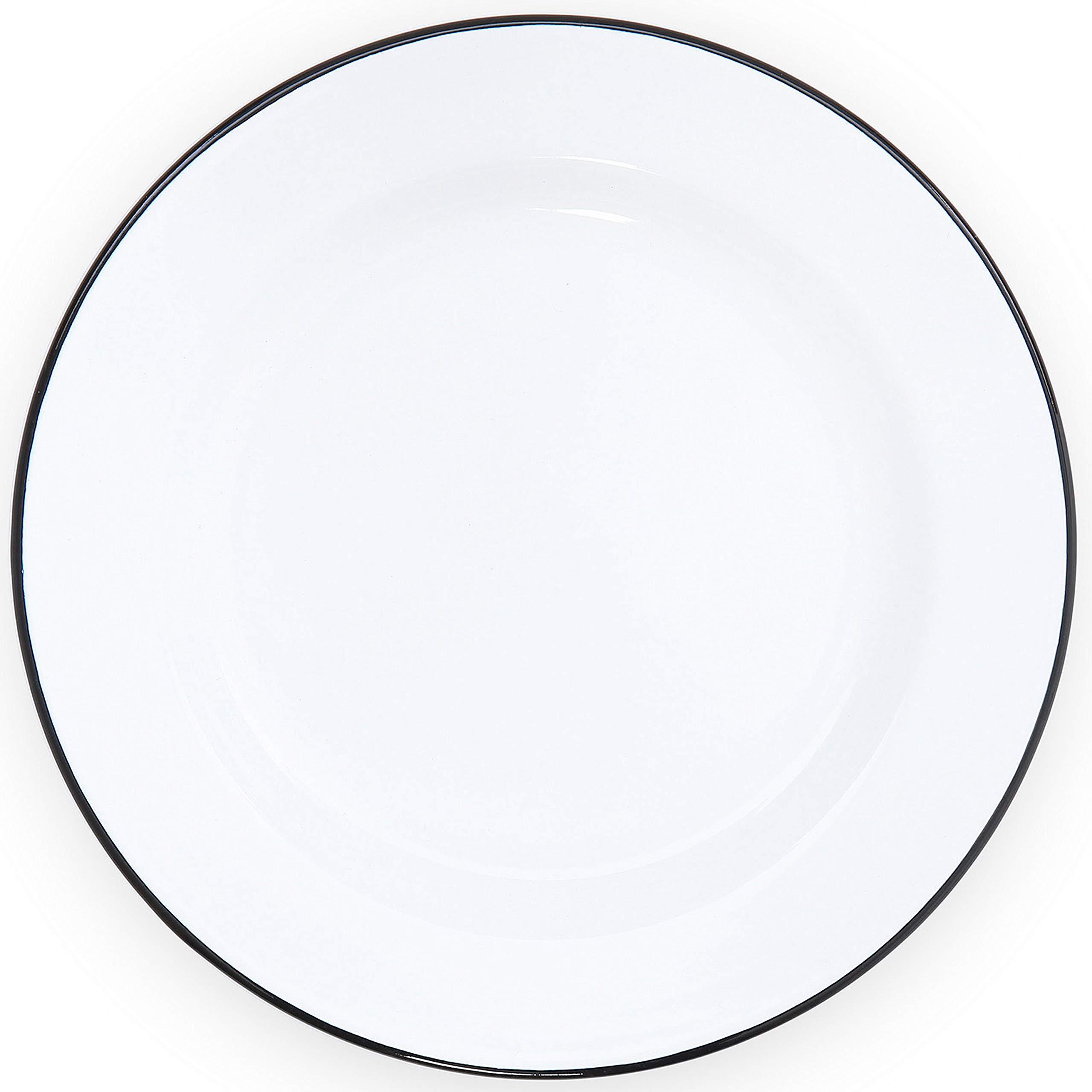 7.5 B/&W splatter plate