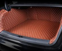 ZYCHUANGYING 3D Full Coverage Car Trunk Mat for Lexus RX300 RX330 RX350 RX400H RX450H 2016-2019 5 Seats (Brown)