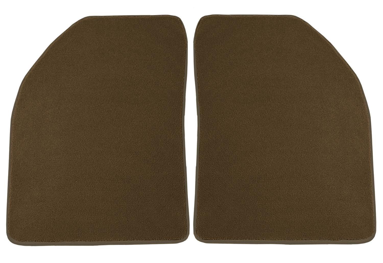 Black Nylon Carpet Coverking Custom Fit Front Floor Mats for Select BMW 5-Series Models