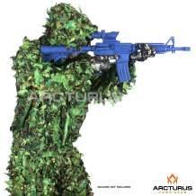 Arcturus 3D Leafy Ghillie Suit - Over 1,000 Laser-Cut Leaves | Lightweight, Breathable Camouflage for Hunting, Paintball & Airsoft