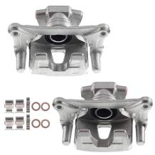 A-Premium Brake Caliper Assembly Compatible with Mitsubishi Endeavor 2004-2008 2010 2011 Rear Side 2-PC Set