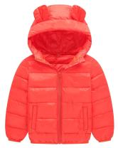 Happy Cherry Girls Winter Down Jacket Big Thick Padded Puffer Parka Jackets with Removable Faux Fur Hooded Coat Outerwear