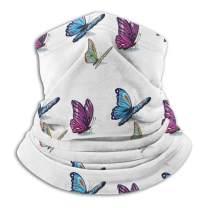 Butterfly Non Slip Seamless Dust Men & Women Face Mask for Outdoor Sports Neck Gaiter Cover Scarf Bandana Balaclava