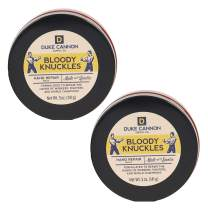 Duke Cannon Supply Co. Bloody Knuckles Hand Repair Balm, Net Wt. 5oz (2 Pack) / Unscented, Paraben-Free