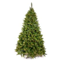 Vickerman 35' Cashmere Pine Artificial Christmas Tree with 100 Clear lights