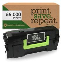 Print.Save.Repeat. Lexmark 58D1U00 Ultra High Yield Remanufactured Toner Cartridge for MS725, MS823, MS824, MS825, MS826, MX722, MX725, MX822, MX824, MX826 [55,000 Pages]