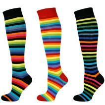 Mysocks Unisex Rainbow Cotton Socks