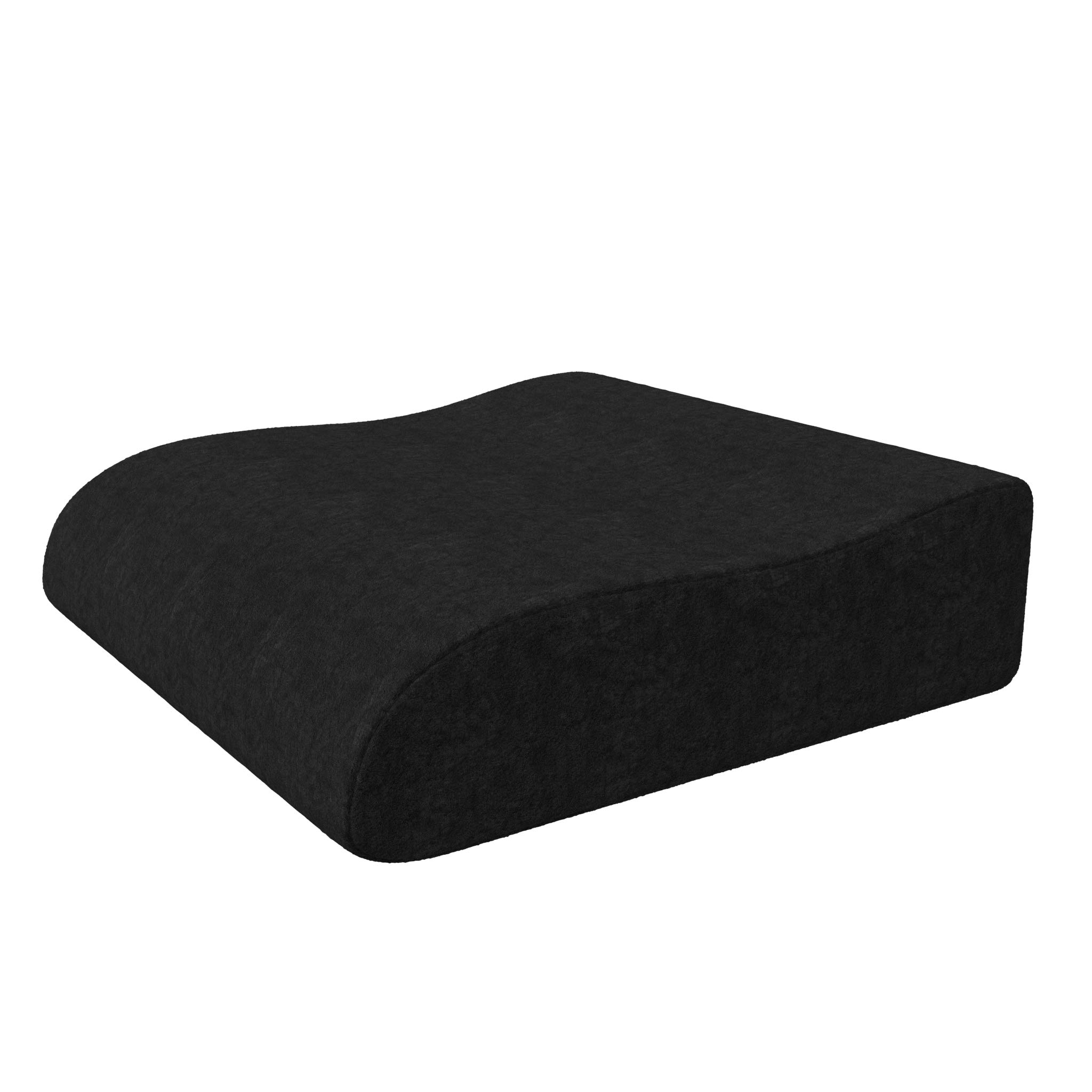 bonmedico Raiser Booster Seat Cushion - Home Office Foam Chair Cushion, Ergonomic Wedge Cushion with High Seating Comfort, Booster Seat to Support Standing Up