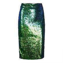 SAYM Women Slimming Flared Pleated Skater Tennis Skorts Mini Sequins Shorts