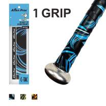 Alien Pros Bat Grip Tape for Baseball (1 or 6 Pack) – Precut and Pro Feel Bat Tape – Replacement for Old Baseball bat Grip – Wrap Your Bat for an Epic Home Run