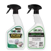 RMR Brands Complete Mold Killer & Stain Remover Bundle - Mold and Mildew Prevention Kit, Disinfectant Spray, Bathroom Cleaner, Includes 2-32 Ounce Bottles