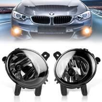TangMiGe Fog Lights Lamps for 2012-2014 BMW 2 Series( F22, 220i 228i ) / 3 Series( F30 F31 F34, 320i 325i 328i 328d 335i ) / 4 Series( F32 F33 F36, 428i 435i ) / M235i Accessories, 1 Pair, Smoke Lens