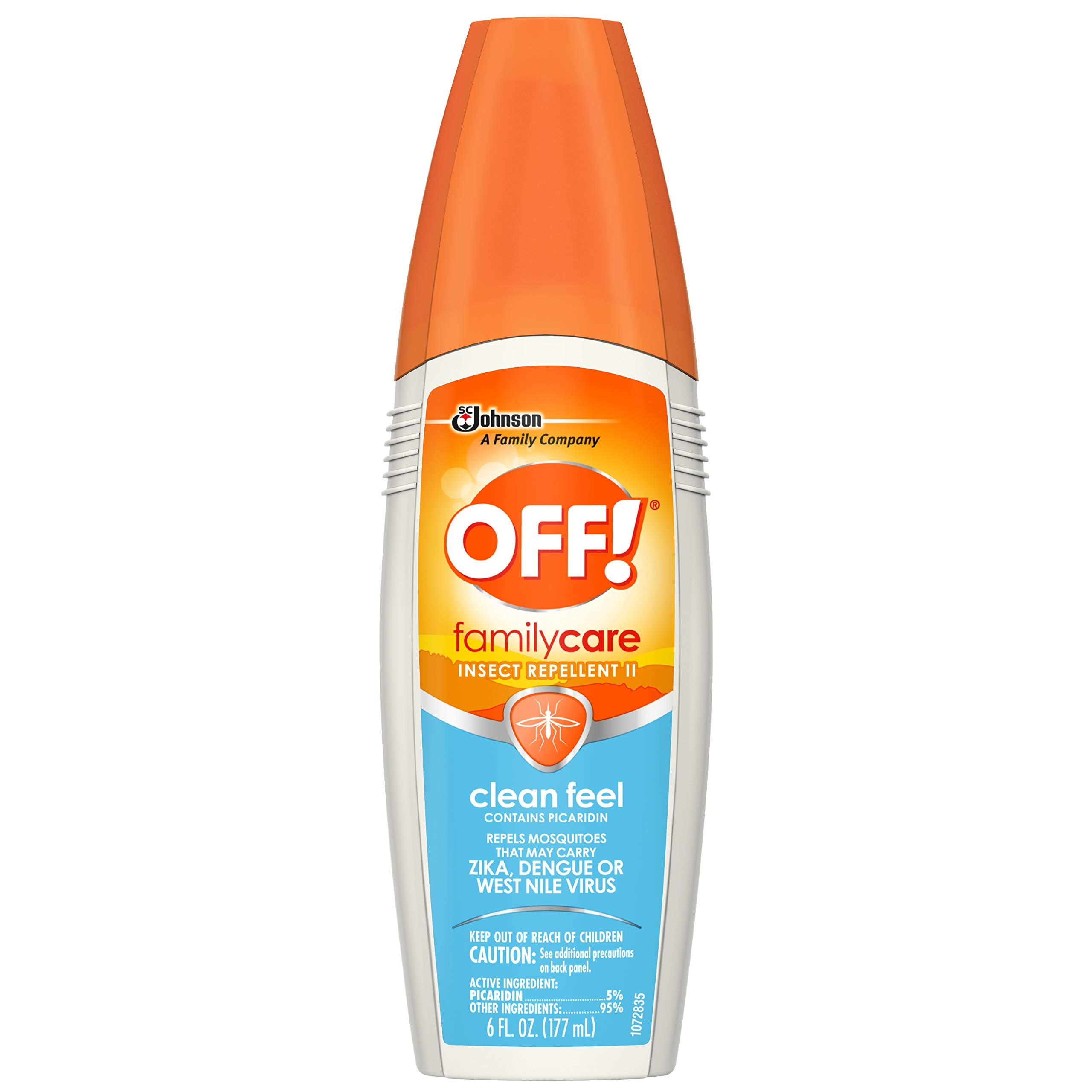 OFF! FamilyCare Insect Repellent II, Clean Feel, 6 oz. (Pack of 12)