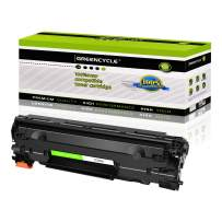 GREENCYCLE Compatible Laser Toner Cartridge Replacement for CF283A 83A for use in Laserjet Pro MFP M201dw M201n M125a M125nw M127fn M127fw M225dn M225dw Printer,1 Pack Black Toner