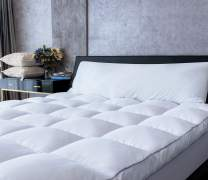 Mattress Topper Full Cooling Plush Pillow Top Mattress Bed Topper, Extra Thick Hotel Quality Down Alternative Pillow Topper