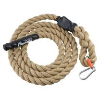 Perantlb Outdoor Climbing Rope for Fitness and Strength Training, Workout Gym Climbing Rope, 1.5'' in Diameter, Length Available: 8,10, 15, 20, 25, 30,40, 50 Feet…
