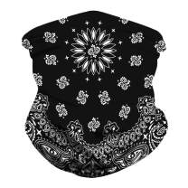Unisex Bandana for Rave Motorcycle Face Mask Face Mask Mouth Cover Bandanas for Dust Outdoors Sports Face Scarf