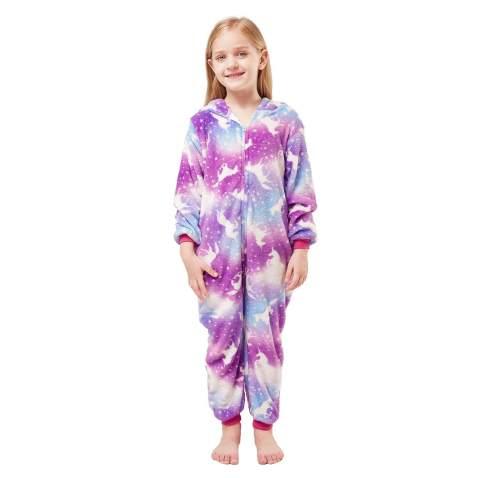 Soft Hooded Onesies Pajamas Costume Halloween Pajamas Gifts for Girls