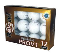 Reload Recycled Golf Balls (12-Pack) Titleist PROV1  Golf Balls(Renewed)