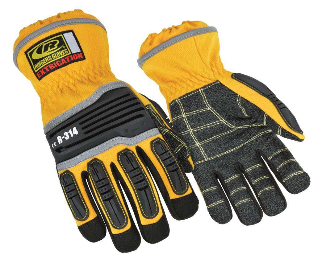 Ringers R-314 Extrication Gloves, Cut Resistant Work Gloves