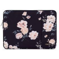 MOSISO Laptop Sleeve Compatible with MacBook Pro 16 inch Touch Bar A2141, Compatible with MacBook Pro Retina A1398 2012-2015, 15-15.6 inch Notebook, Polyester Vertical Camellia Bag with Pocket