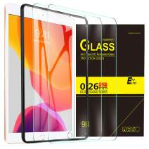 ELTD (2Pack) Screen Protector for iPad 10.2 inches/New iPad 10.2 HD Tempered Glass Screen Protector for The New iPad 10.2 2019 Release Tablet