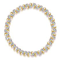 """LADY COLOUR Mother's Day Jewelry Gifts for Mom, The Best Youth 7"""" Stretch Bracelet, Crystals from Swarovski Hypoallergenic Jewelry Gift BoxPacking, Nickel Free Passed SGS Test Birthday Gift"""