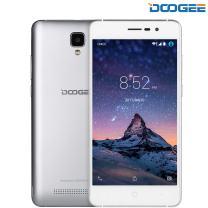 Unlocked Cell Phones, DOOGEE X10 Dual SIM 3G Unlocked Smartphones, Android 6.0-5.0 Inch IPS Display - 3360mAh Battery - 8GB ROM - 5MP Camera - Silver