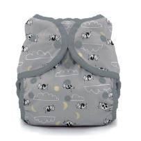 Thirsties Duo Wrap Cloth Diaper Cover, Snap Closure, Over The Moon Size Two (18-40 lbs)
