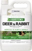 Liquid Fence Deer & Rabbit Repellent Ready-To-Use, 1-Gallon, 4-Pack