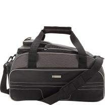 ONboard Underseat Carry On Duffel Bag with Anti Theft RFID Blocking Protection, Padded, Black, One Size