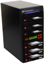 "Systor 1 to 5 SATA 300MB/s HDD SSD Duplicator/Sanitizer - 3.5"" & 2.5"" Hard Disk Drive Solid State Drive Dual Port Hot Swap (SYS305DP)"