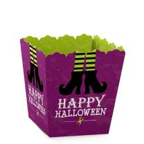 Big Dot of Happiness Happy Halloween - Party Mini Favor Boxes - Witch Party Treat Candy Boxes - Set of 12