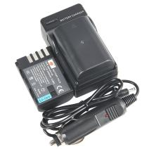 DSTE Replacement for 2X DMW-BLF19 DMW-BLF19E DMW-BLF19PP + DC141 Travel and Car Charger Adapter Compatible Panasonic Lumix DMC-GH3 GH3A GH3AGK GH3GK GH3H DC-G9GK-K Lumix G9 DC-GH5 DC-GH5S Camera