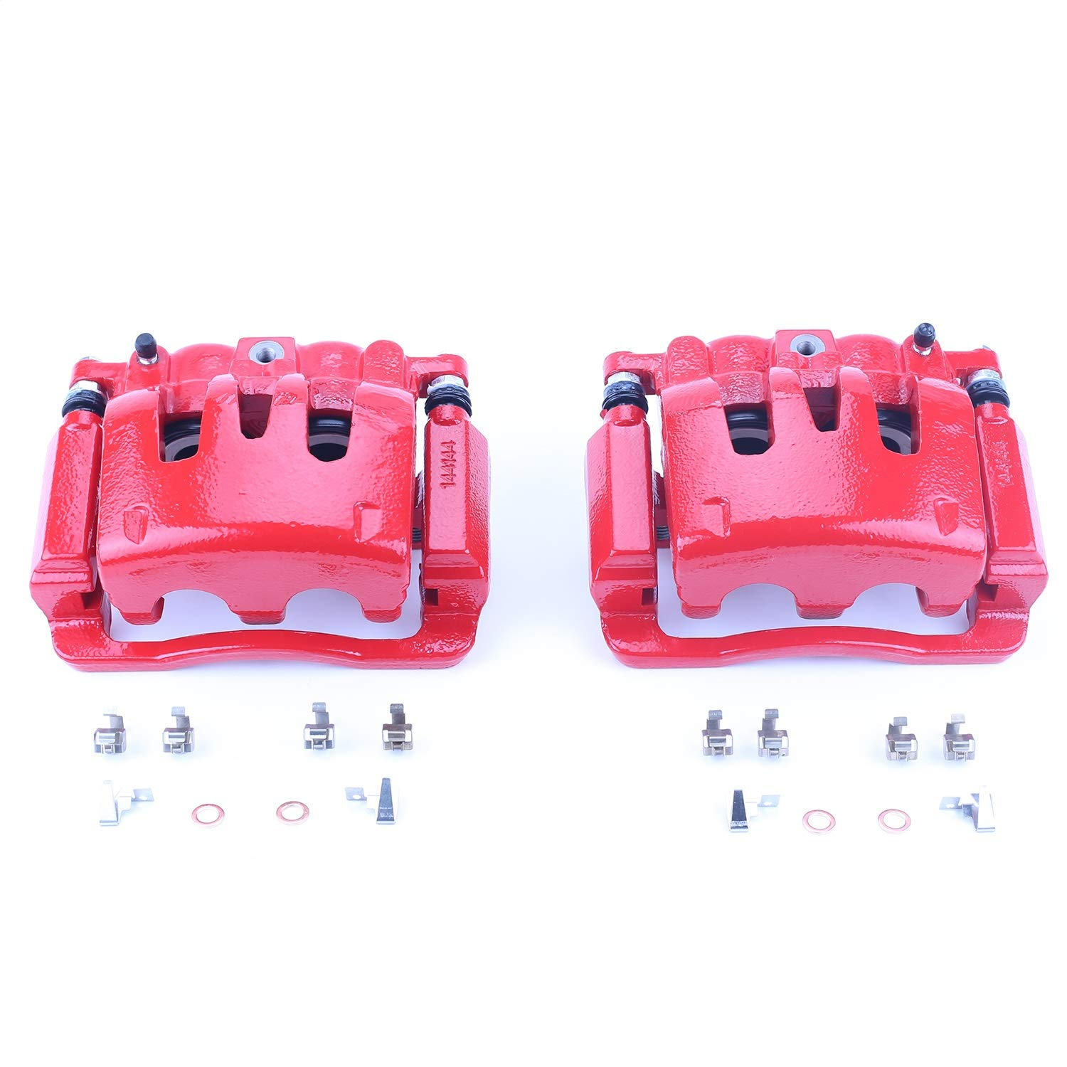 Power Stop S4920 Red Powder-Coated Performance Caliper