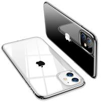 TORRAS Crystal Clear iPhone 11 Case, [Anti-Yellow] Thin Slim [Anti-Scratch] Shockproof Soft TPU Cover Case for iPhone 11 6.1 inch, Crystal Clear