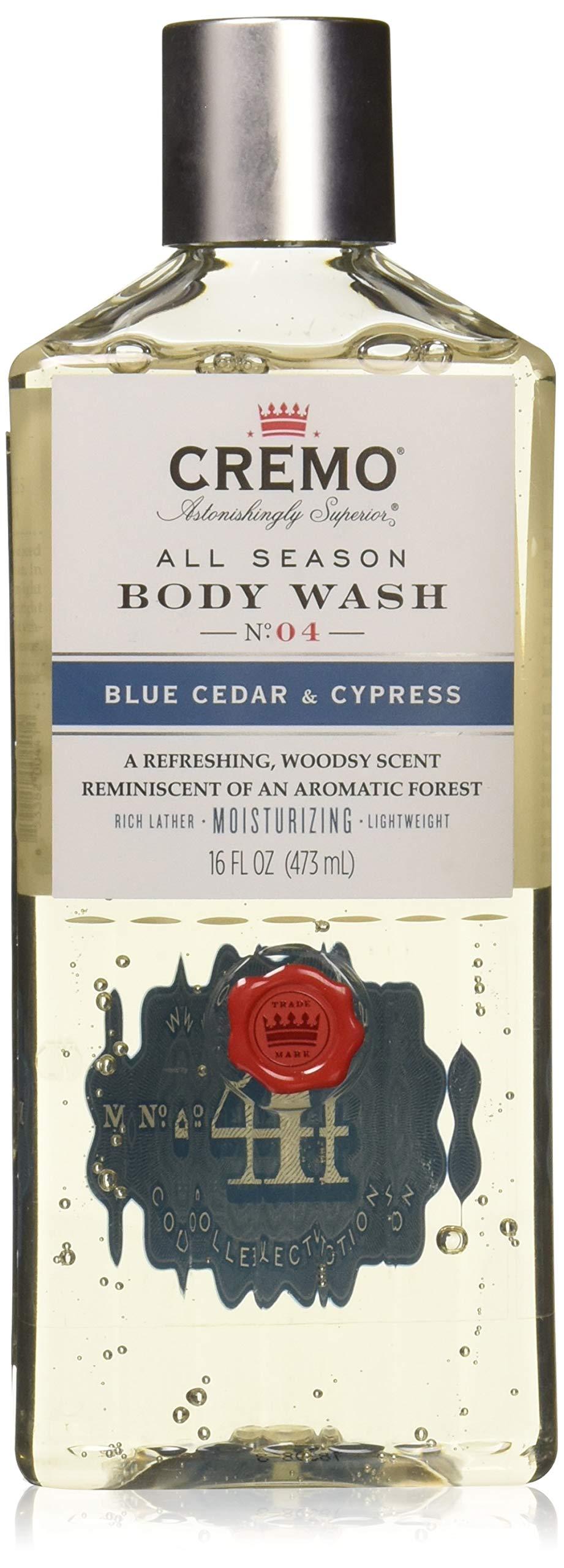 Cremo Inc Cremo Blue Cedar & Cyprus Body Wash - 16oz, 16 Oz